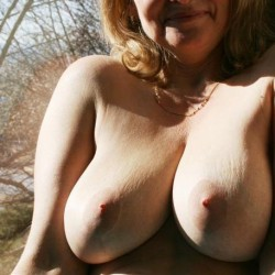 Large tits of my wife - Darla