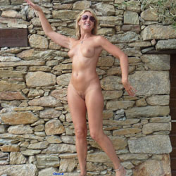 Just Fred - Nude Girls, Outdoors, Big Tits, Blonde, Public Exhibitionist, Shaved, Nature, Pussy, Natural Tits
