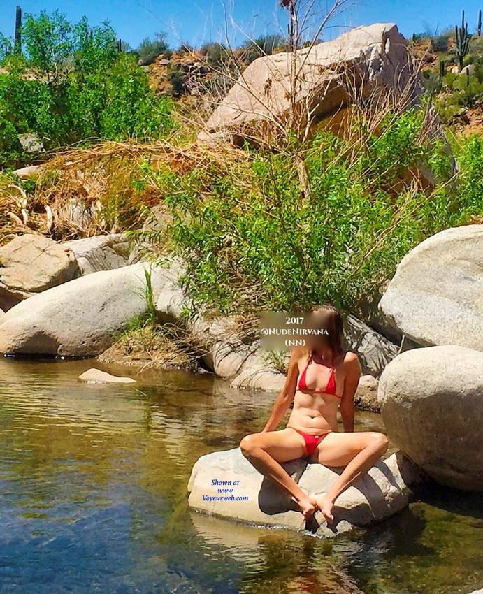 Pic #3 Oasis In The Desert - Nude Wives, Outdoors, Shaved, Nature
