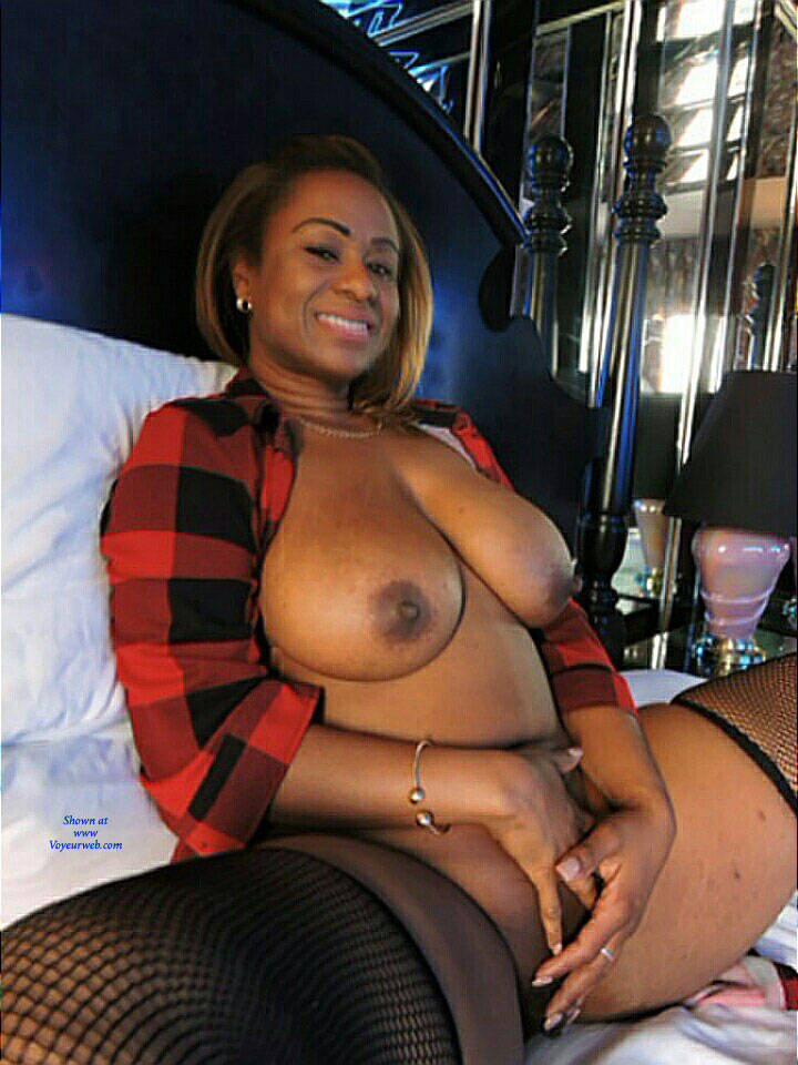 Pic #9 So Sweet And Sexy - Big Tits, Ebony, Lingerie, Amateur