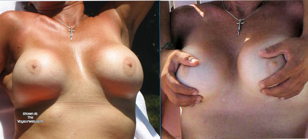 Pic #1 Large tits of my girlfriend - Eaton