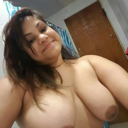 Very large tits of my ex-girlfriend - Julie