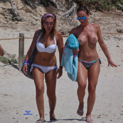 Nude Girls At The Beach - Big Tits, Bikini, Brunette Hair, Exposed In Public, Girls, Large Breasts, Nude In Public, Nude Outdoors, Showing Tits, Sunglasses, Topless Girl, Beach Tits, Beach Voyeur, Hot Girl, Sexy Body, Sexy Boobs, Sexy Face, Sexy Figure, Sexy Girl, Sexy Legs