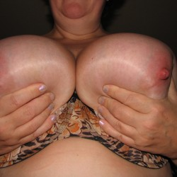 Very large tits of my wife - mrs. cer526