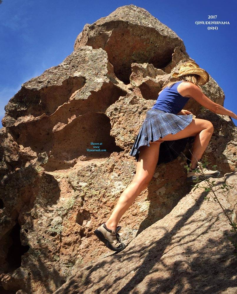 Pic #2 Nirvana Climbing - Nude Girls, Outdoors, Shaved, Nature, Amateur