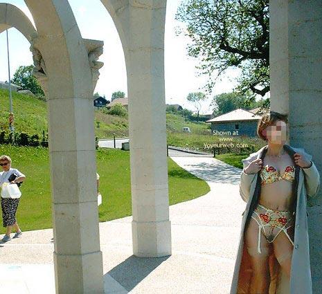 Pic #2 - Julie Hsavoie Near The Fountain