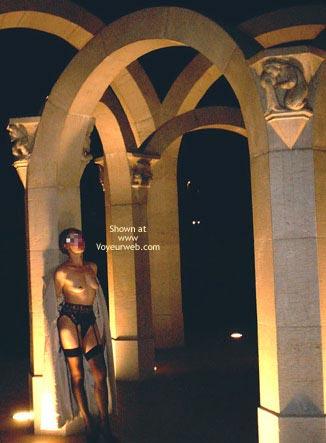 Pic #4 - Julie Hsavoie Near The Fountain