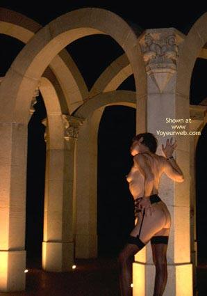 Pic #8 - Julie Hsavoie Near The Fountain