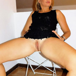 Open - Pantieless Wives, See Through, Shaved, Amateur