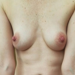 Small tits of my wife - D Marie