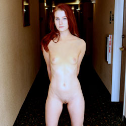 Chained Naked Redhead Girl - Exposed In Public, Full Nude, Nipples, Nude In Public, Red Hair, Redhead, Shaved Pussy, Small Breasts, Small Tits, Hot Girl, Naked Girl, Sexy Ass, Sexy Body, Sexy Face, Sexy Feet, Sexy Figure, Sexy Girl, Sexy Legs, Amateur
