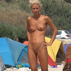 Hot Blonde Camping Girl - Blonde Hair, Exposed In Public, Full Nude, Naked Outdoors, Natural Tits, Nipples, Nude Outdoors, Shaved Pussy, Hairless Pussy, Hot Girl, Naked Girl, Sexy Body, Sexy Figure, Sexy Girl, Sexy Legs