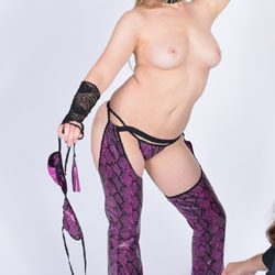Horny Topless Wife - Big Tits, Blonde Hair, Nipples, Thong, Hot Wife, Nude Wife, Sexy Face, Sexy Legs, Topless Wife