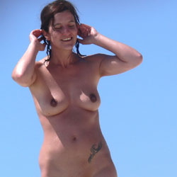 Wet And Naked In Beach - Big Tits, Brunette Hair, Exposed In Public, Full Frontal Nudity, Full Nude, Nipples, Nude Beach, Shaved Pussy, Beach Pussy, Beach Tits, Beach Voyeur, Hairless Pussy, Hot Girl, Sexy Girl, Sexy Legs