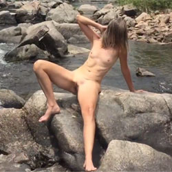 Nirvana Skinny Dip - Nude Girls, Outdoors, Small Tits, Shaved, Nature, Amateur