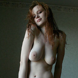 Horny And Yummy Redhead - Big Tits, Blonde Hair, Huge Tits, Red Hair, Redhead, Shaved Pussy, Hairless Pussy, Sexy Body, Sexy Boobs, Sexy Face, Sexy Figure, Sexy Girl, Sexy Legs