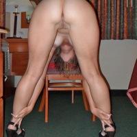 My wife's ass - april