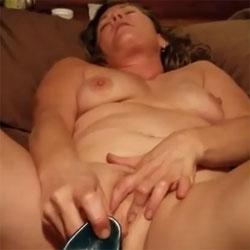 Getting Herself Off!! - Nude Girls, Big Tits, Brunette, Toys, Amateur, Women Using Dildos, Masturbation