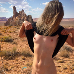 Nirvana Cock Rock - Public Exhibitionist, Flashing, Outdoors, Small Tits, Shaved, Amateur