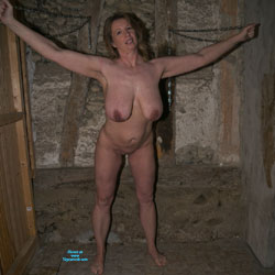 Anne In The Dungeon - Nude Amateurs, Big Tits, Brunette, Mature