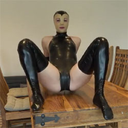 New Latex Sex Doll Outfit - Blowjob, Cumshot, Penetration Or Hardcore, Shaved, Pussy Fucking, Amateur