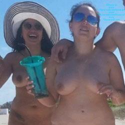 Haulover Beach, FL Pt.1 - Nude Girls, Beach, Big Tits, Brunette, Outdoors, Shaved, Beach Voyeur