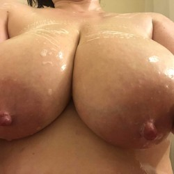 My very large tits - burning_up
