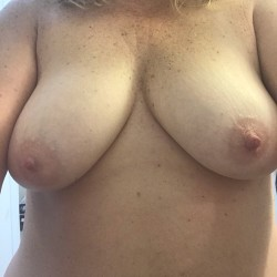 Medium tits of my wife - titties