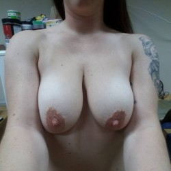Large tits of a neighbor - Krissy