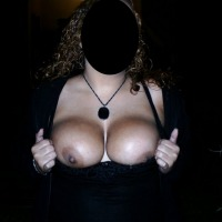 Very large tits of my wife - Miriam