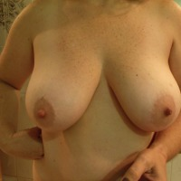 Very large tits of a co-worker - shory