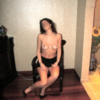 My very small tits - turkish wife