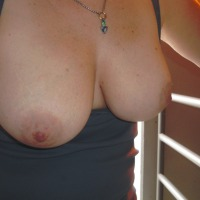 Large tits of my wife - Mrs. B