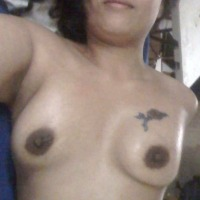 Small tits of my wife - Show-off