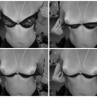 Small tits of my wife - Tiffani