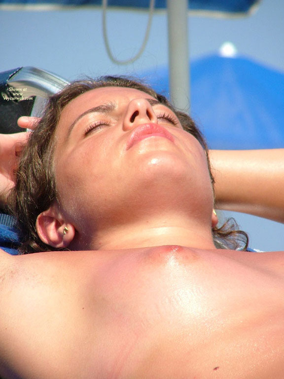 Pic #1 - Beach Tits - Beach Voyeur , Sunburned Tit, Naked Beach, Nice Face, Tanning, Young Breast In The Sun, Small Breast, Beach Nipple, Bach Voyeur, Suntunned Breast, Tit To The Sun
