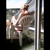 Andrea Auf Der Terrasse