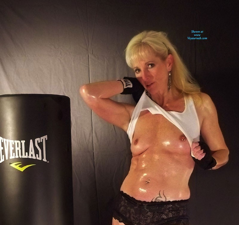 Pic #1 - Boxing - Blonde Hair, Mature , Always Looking To Stay HOT And Sweaty. Not Bad For A 50 Something MILF. Loves To Go A Few Rounds With Hot, Sexy Boy Toys!