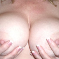 Very large tits of my wife - Jill