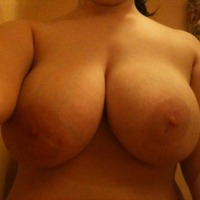 Extremely large tits of my ex-girlfriend - slut