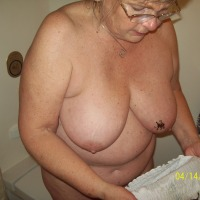 Large tits of my ex-wife - m