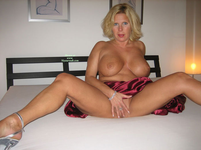 Pic #1 - Seasoned MILF With Huge Tits - Big Tits, Blonde Hair, Huge Tits, Milf, Spread Legs , The Milf Pledge, Large Boobs On Bed, Blue Eyed Blonde Milf, Spreading Legs On Bed, Inviting Milf In Red, Holding Hand In Front Of Pussy, Blonde With Big Tits, Spread On Bed, Silver Heels, Older Woman, Silver Bracelet And Ring, Seated On Bed, Legs Spread Wide