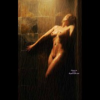 Nude In Shower - Naked Girl, Nude Amateur