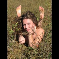OUTDOOR NAKED SMILE - Nude Outdoors, Naked Girl, Nude Amateur
