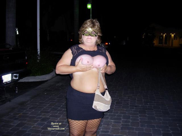 Pic #1 - Wife Flashing At Fantasy Fest , Wife Flashing Tits At Fantasy Fest