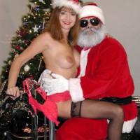 *SN Natalie Visits Santa