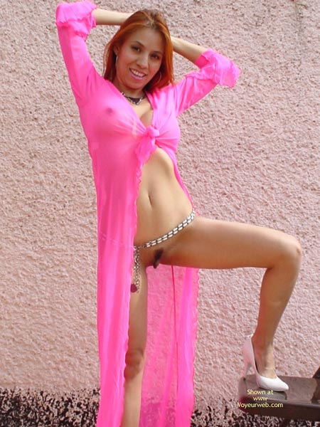 Pic #7 - Sexymex In Her New Pink Robe
