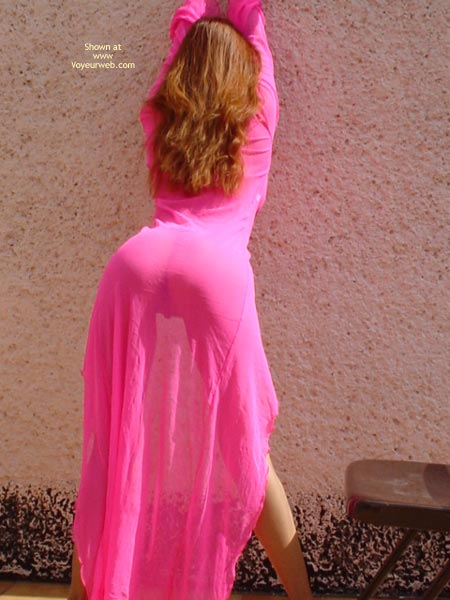 Pic #8 - Sexymex In Her New Pink Robe