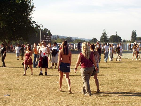 Pic #4 - Lollapalooza Boob Fun!