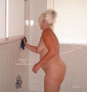 Pic #2 - Tammy On Cleaning Day